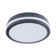 Светильник потолочный BENO LED, круглый, 18W, IP54, cерый, Kanlux 32941