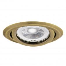 Світильник точковий ARGUS CT-2115-BR/M, Gx5.3, IP20, латунь матова, Kanlux 330