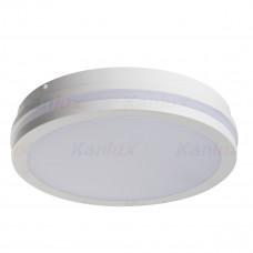 Светильник потолочный BENO LED, круглый, 24W, IP54, 4000K, белый, Kanlux 33340