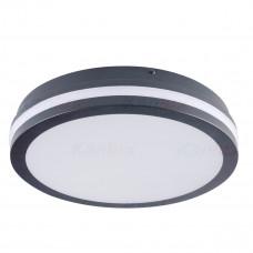 Светильник потолочный BENO LED, круглый, 24W, IP54, 4000K, cерый, Kanlux 33341