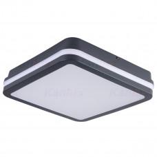 Светильник потолочный BENO LED, прямоугольный, 24W, IP54, 4000K, cерый, Kanlux 33343