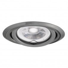 Світильник точковий ARGUS CT-2115-GM, Gx5.3, IP20, графіт, Kanlux 334