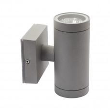 Світильник настінний BART EL-235, 2xGU10, IP54, сірий, Kanlux 07080