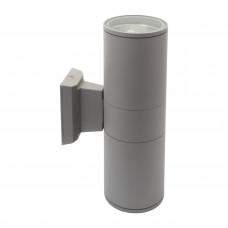 Світильник настінний BART EL-260, 2xE27, IP54, сірий, Kanlux 07082