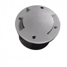 Світильник грунтовий ROGER DL-2LED6, 1W, 6500K, IP66, сірий, Kanlux 07281