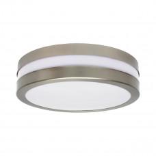 Світильник припотолочный JURBA DL-218O, 2xE27, IP44, нікель сатіновий,  Kanlux 08980