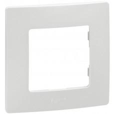 Рамка 1 постова, Біла, Legrand Etika 672501