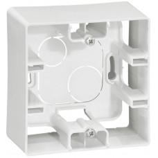 Коробка накладного монтажу, 1 пост, Біла, Legrand Etika 672510