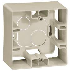 Коробка накладного монтажу, 1 пост, Слонова кістка, Legrand Etika 672520