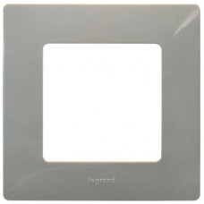 Рамка 1 постова, Світла галька, Legrand Etika 672521