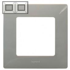 Рамка 2 постова, Світла галька, Legrand Etika 672522