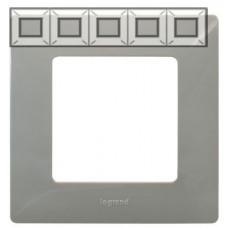 Рамка 5 постова, Світла галька, Legrand Etika 672525