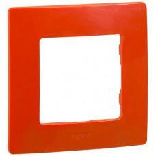 Рамка 1 постова, Червона, Legrand Etika 672531