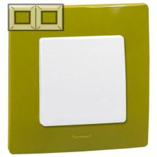 Рамка 2 постова, Зелений папоротник, Legrand Etika 672542