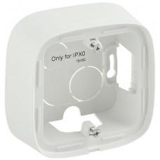 Коробка 1 постова для накладного монтажу, пластик, Біла, Valena Allure Legrand 755551
