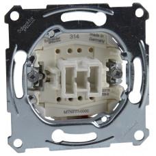 Выключатель одноклавишный, механизм, D-Life Merten MTN3111-0000