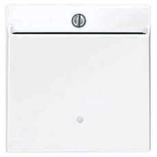 Накладка з карткою-ключем, Активний-білий глянець, System-M Merten MTN315625