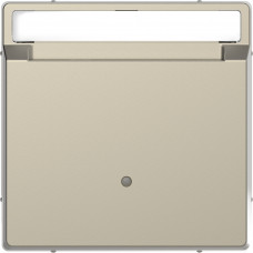 Накладка з карткою-ключем, Сахара, пластик, D-Life Merten MTN3854-6033