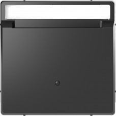 Накладка з карткою-ключем, Антрацит, пластик, D-Life Merten MTN3854-6034