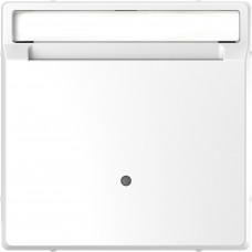 Накладка з карткою-ключем, Білий лотос, пластик, D-Life Merten MTN3854-6035