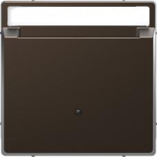 Накладка з карткою-ключем, Моко, метал, D-Life Merten MTN3854-6052