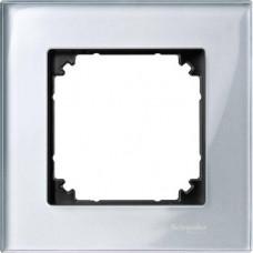 Рамка 1 постова, Алмаз, скло, M-Elegance Merten MTN4010-3260