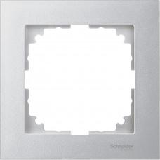 Рамка 1 постова, Алюміній, пластик, M-Pure Merten MTN4010-3660