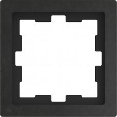 Рамка 1 постова, Базальт, камінь, D-Life Merten MTN4010-6547