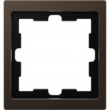 Рамка 1 постова, Моко, метал, D-Life Merten MTN4010-6552