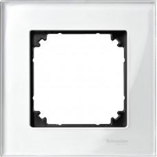Рамка 1 постова, Бріліант, скло, M-Elegance Merten MTN404119