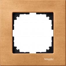 Рамка 1 постова, Бук, дерево, M-Elegance Merten MTN4051-3470