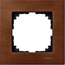 Рамка 1 постова, Вишня, дерево, M-Elegance Merten MTN4051-3472