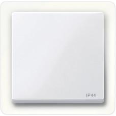 Клавіша IP44 для 1-клавішних вимикачів, Активний-білий глянець, System-M Merten MTN432025