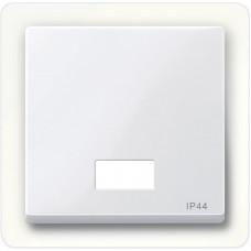 Клавіша IP44 для 1-кл. вимикачів з підсвіткою, Активний-білий глянець, System-M Merten MTN432725