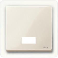 Клавіша IP44 для 1-кл. вимикачів з підсвіткою, Бежевий глянець, System-M Merten MTN432744