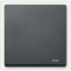 Клавіша IP44 для 1-клавішних вимикачів, Антрацит матовий, System-M Merten MTN433014
