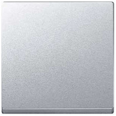 Клавіша для 1-клавішних вимикачів, Алюміній матовий, System-M Merten MTN433160