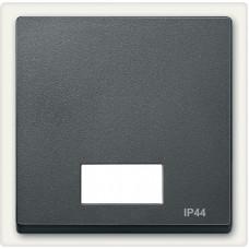 Клавіша IP44 для 1-кл. вимикачів з підсвіткою, Антрацит матовий, System-M Merten MTN433714