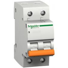 Автоматический выключатель ВА63 1П+Н 6A C Schneider Electric 11211