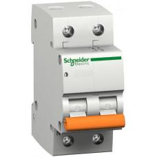Автоматический выключатель ВА63 1П+Н 63A C Schneider Electric 11219