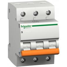 Автоматический выключатель ВА63 3П 16A C Schneider Electric 11223