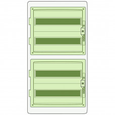 Щит распределительный KAEDRA, 842х448х160, 72мод. Schneider Electric 13987