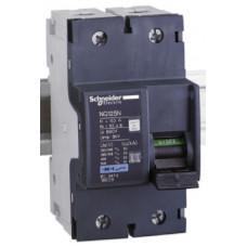 Автоматический выключатель NG125N 2П 80A C Schneider Electric 18629