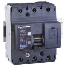Автоматический выключатель NG125N 3П 16A C Schneider Electric 18633