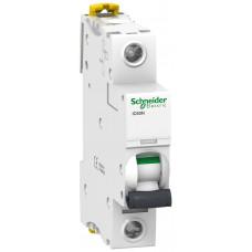 Автоматический выключатель iC60N 1P 6A B Schneider Electric A9F78106