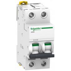 Автоматический выключатель iC60N 2P 6A B Schneider Electric A9F78206