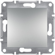 Выключатель одноклавишный, Алюминий Asfora, EPH0100161