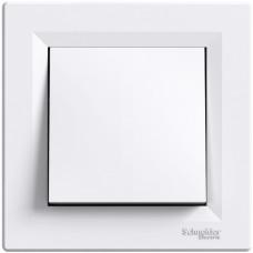 Выключатель со степенью защиты IP44, Белый, Asfora EPH0100221