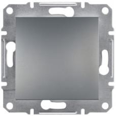 Выключатель со степенью защиты IP44, Сталь Asfora, EPH0100262