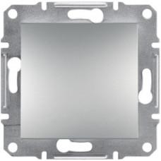 Выключатель одноклавишный перекрестный, Алюминий Asfora, EPH0500161